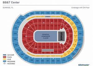 Bb T Center Seating Chart With Rows And Seat Numbers