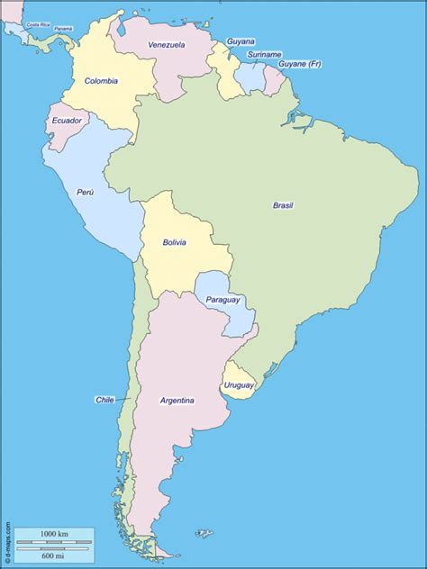map  south america facts information beautiful
