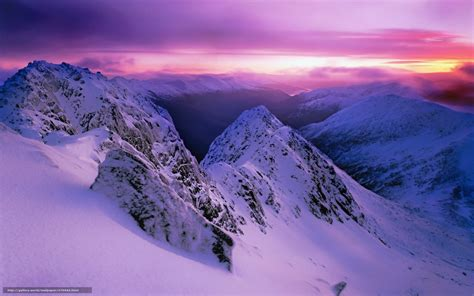 Winter Landscape Desktop Wallpaper Download Wallpaper Sunset Mountains Landscape Free Desktop Wallpaper In The Resolution