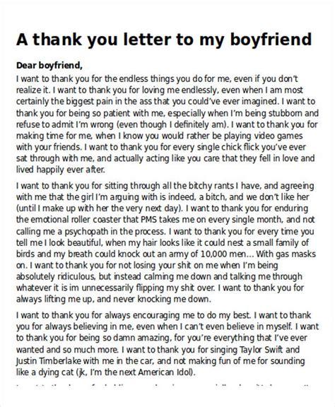 sample   letter   boyfriend  examples