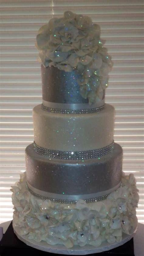 bling wedding cakes ideas  pinterest