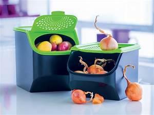 Boite A Pomme De Terre : tupperware bo te pommes de terre boite oignons kadolog ~ Teatrodelosmanantiales.com Idées de Décoration