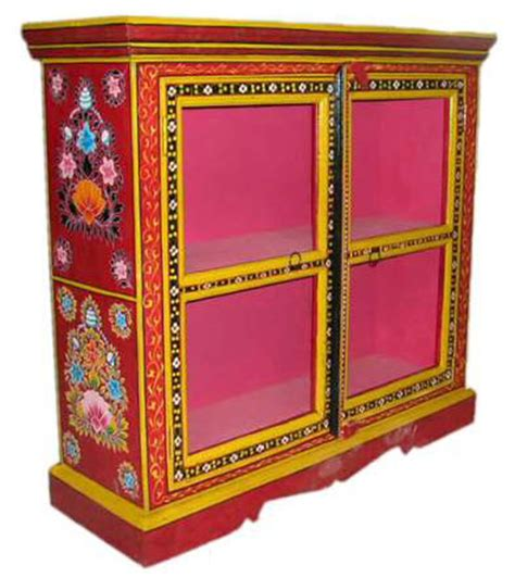 indian painted furniture hand painted furniture antique