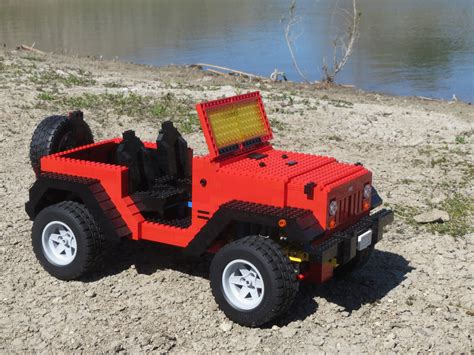 Lego  Ee  Jeep Ee   Wrangler I Ordered Some Angled Pieces So That