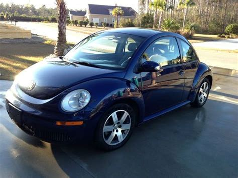 old car owners manuals 2006 volkswagen new beetle electronic throttle control sell used 2006 volkswagen new beetle 2 5l manual dark blue gray leather low miles mint in