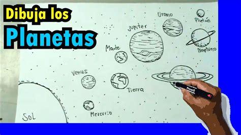 como dibujar el sistema solar solar system drawing youtube