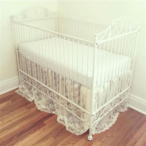 distressed white crib casablanca crib distressed white