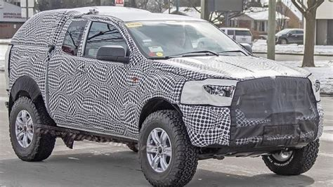 Is This 'mule' The New Ford Bronco?