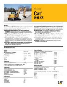 cat 308 specs detailed 308 e 2 cr caterpillar de technical