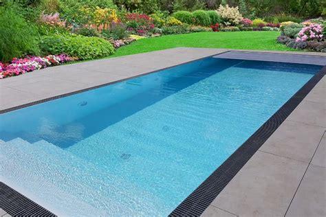 pool komplettset premium  mit ueberlauf fertigpool