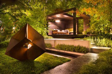fantastic garden landscape ideas  night