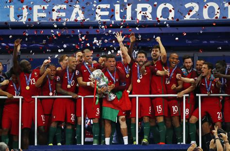 In Photos Portugal Takes Euro Cup With Win Over France