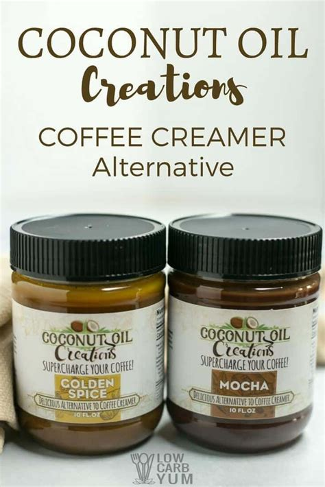 120 calories, 14 g fat (11 g saturated), 0 g carbs, 0. Coconut Oil Coffee Creamer Alternative for Keto Diet via @lowcarbyum | Coffee creamer ...