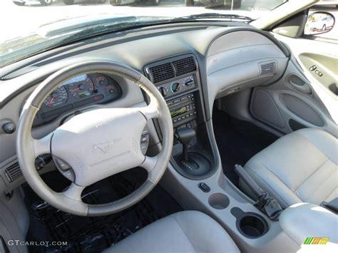 medium graphite interior  ford mustang gt convertible