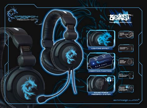 dragonwar headset gaming beast jual dragonwar beast headset gaming markasgames