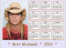 Bret Michaels images 2012 Bret Michaels Calendar HD