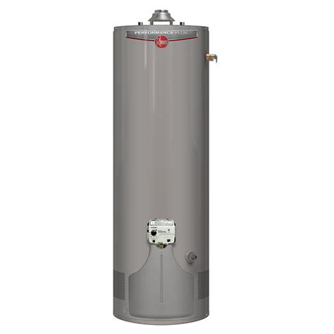 Rheem Gas Water Heaters Performance Plus 40 Gal Tall 9