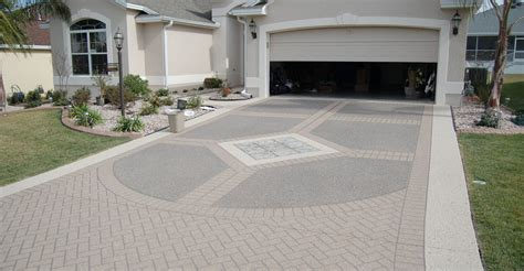driveway concrete designs concrete driveways the concrete network