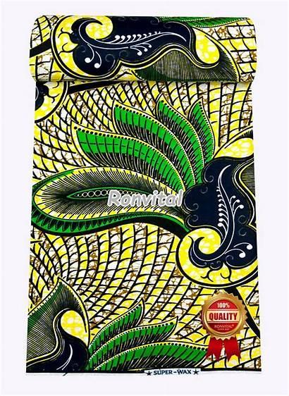 Wax African Cloth Bell Fabric Stocklot H588