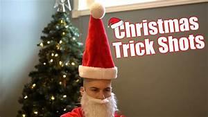 Christmas Trick Shots | SweetSpotSquad - YouTube