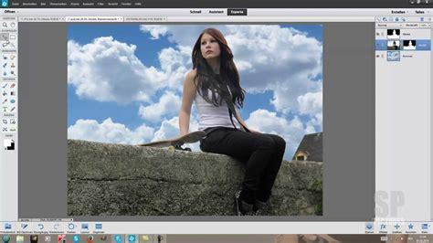 photoshop elements tutorial german hintergrund aendern