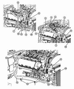 2006 Jeep Grand Cherokee Line  A  C Discharge  Air  Engine  Conditioning