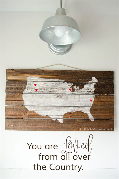 craftaholics anonymous diy pallet wood sign mothers