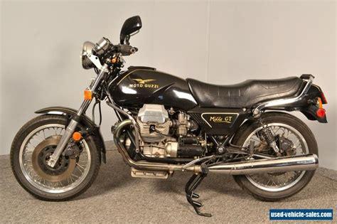 moto guzzi mille gt 1989 moto guzzi mille gt for sale in canada
