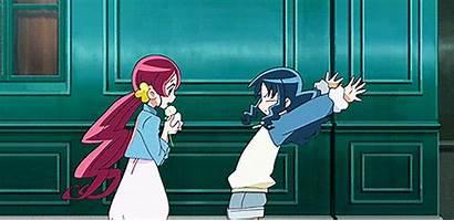 Anime Glomp Mean Fuwanovel Hug Does Close