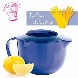 Nettoyer Micro Onde Citron : astuce nettoyer votre micro onde sans d tergeant c ~ Melissatoandfro.com Idées de Décoration