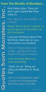 Movie Quotes fr... Disney Monsters University Quotes