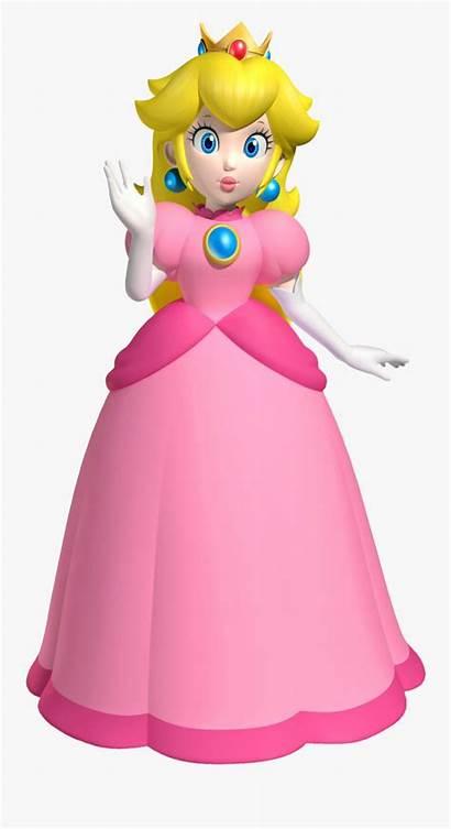 Mario Clipart Princess Bros Peach Clipartkey