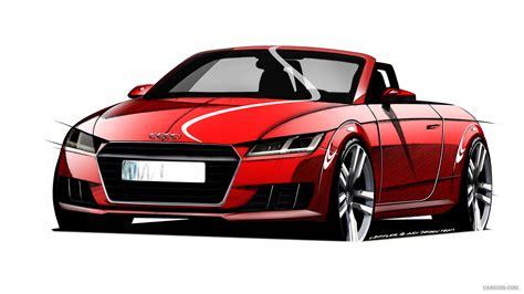 Audi Tt Roadster Sketch
