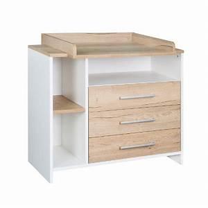 Meuble à Langer : schardt commode langer avec table langer eco plus couleurs bois blanc ~ Teatrodelosmanantiales.com Idées de Décoration