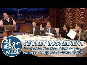 Secret Ingredient with Ashton Kutcher, Liam Payne, Vanessa ...