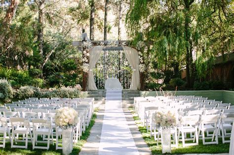 top romantic wedding venues  southern california