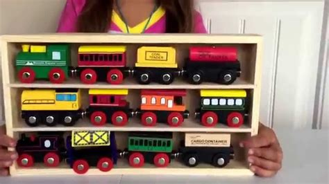 track toys wooden railway set wooden engines train