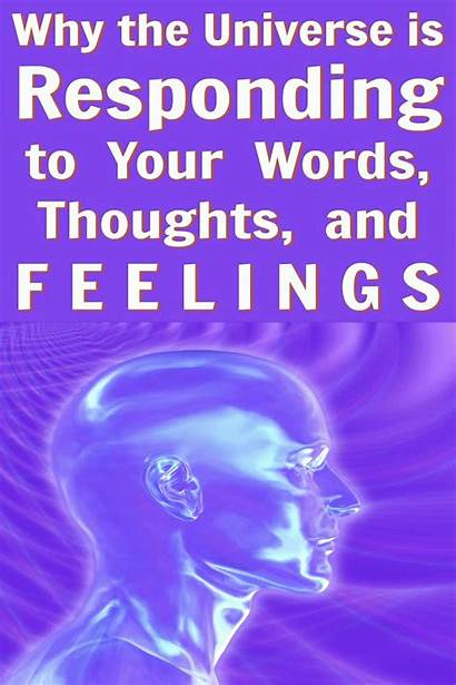 Positive Universe Words Thoughts Power Language Way