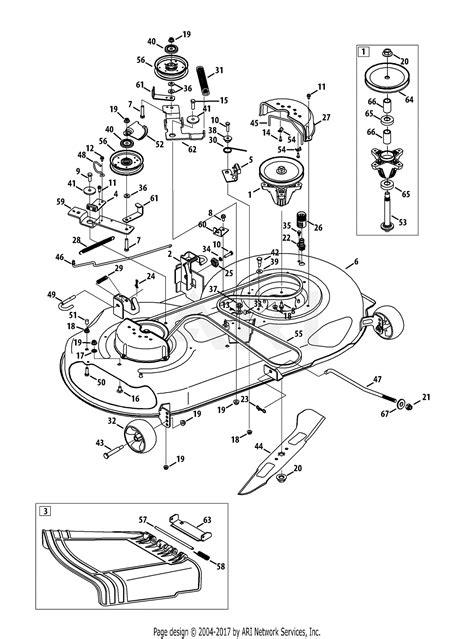 Deck Part Diagram by Troy Bilt 13wx79kt011 2013 Parts Diagram For Mower