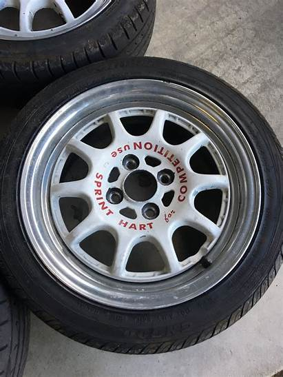 Hart Wheels Racing Cpr 4x100 15x6 Honda