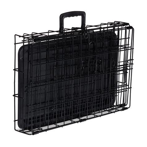 Gabbia Auto - gabbia pieghevole per cani grandi e piccoli box per auto