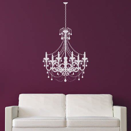 Fashioned Chandelier by Fashioned Candle Chandelier Wall Stickers Wall