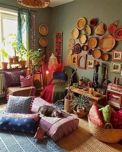 Boho Decor Decorating Bohemian Stylish Interior Teracee