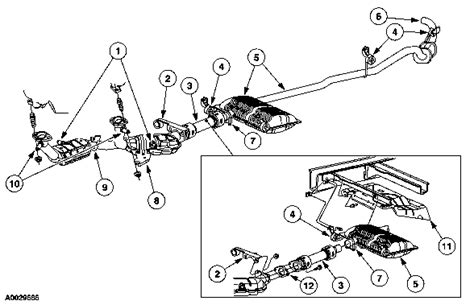 2000 Windstar 3 8 Engine Diagram by Ford Windstar 2003 Sel Exhaust System Diagram
