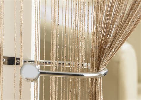 String Curtains by Glam Latte String Curtain From Net Curtains Direct