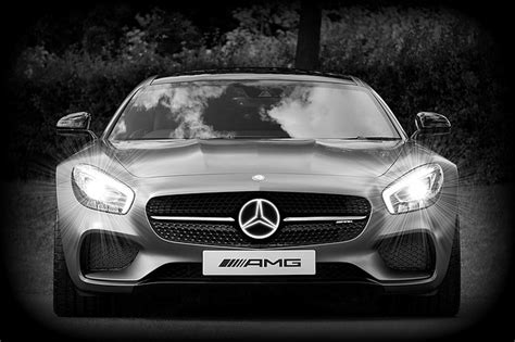 mercedes benz car amg gt  photo  pixabay