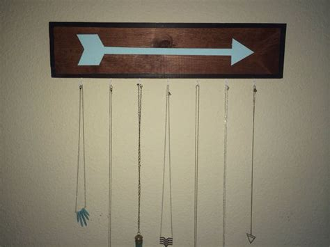 Brandy Melville Inspired Arrow Wooden Sign Necklace Hanger