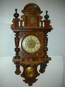 antique german kienzle free swinger wall clock pendulum With german pendulum wall clocks