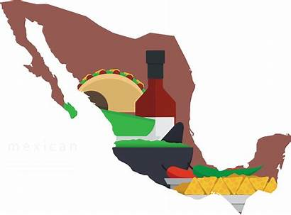 Mexico Mexican Silhouette Map Clipart Getdrawings Transparent