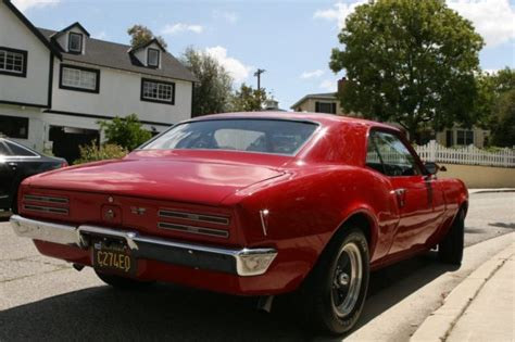 Pontiac Firebird Restomod Pro Touring For Sale